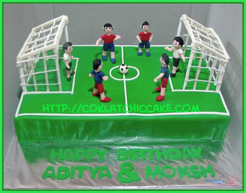 Cake lapangan bola