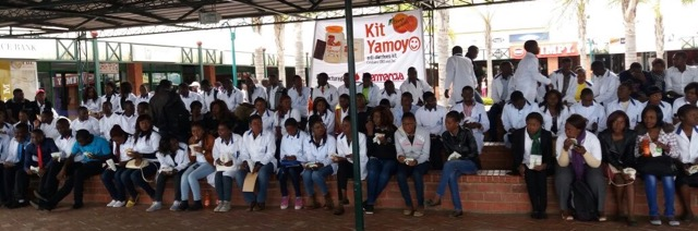 Pharmaceutical Society of Zambia parade for Pharmacy Awareness Week, 6-11 June 2016