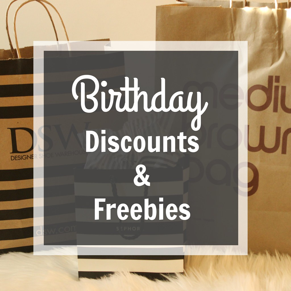 Birthday Discounts 16