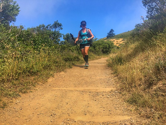 Descent to Tennessee Valley on Miwok