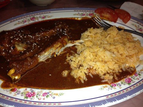 Chicken Mole And Rice | by pam's pics-