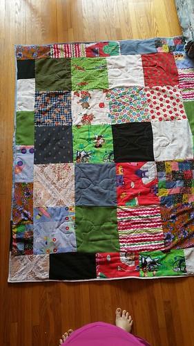 Iron Craft - summer picnic blanket.