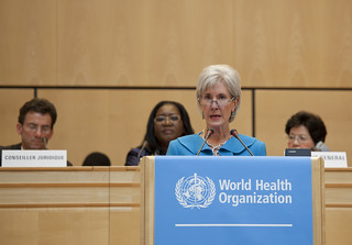 Secretary Sebelius addresses the 65th World Health Assembly | by US Mission Geneva