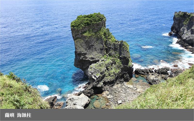 蘭嶼_海蝕柱