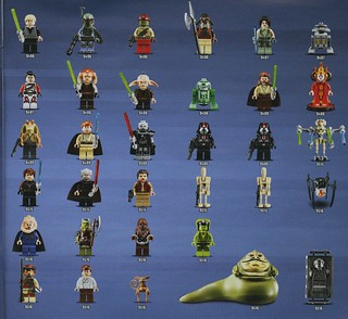Summer 2012 Star Wars sets minifig inventory | by hmillington