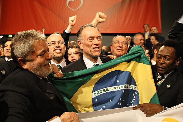 Momento da decisão pelo Rio de Janeiro para os Jogos Rio 2016