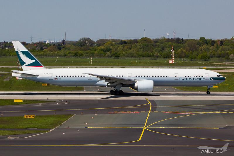 Cathay Pacific - B773 - B-KPF (1)