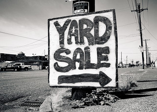 Yard sale sign | by БРАТСТВО