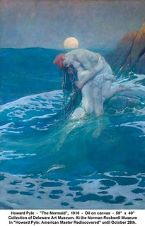 "Howard Pyle  -  ""The Mermaid"",  1910 