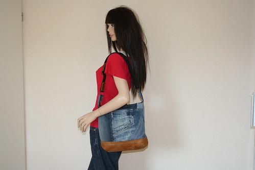 spijkerbroeken tas