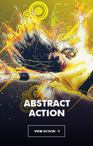 Creative Splatter Photoshop Action - 65