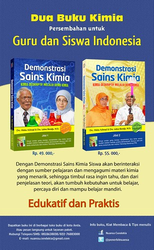 Poster Demonstrasi Kimia Copy Buku Demonstrasi Sains Kimia