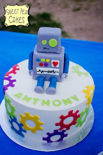 Sweet Pea Birthday Cake