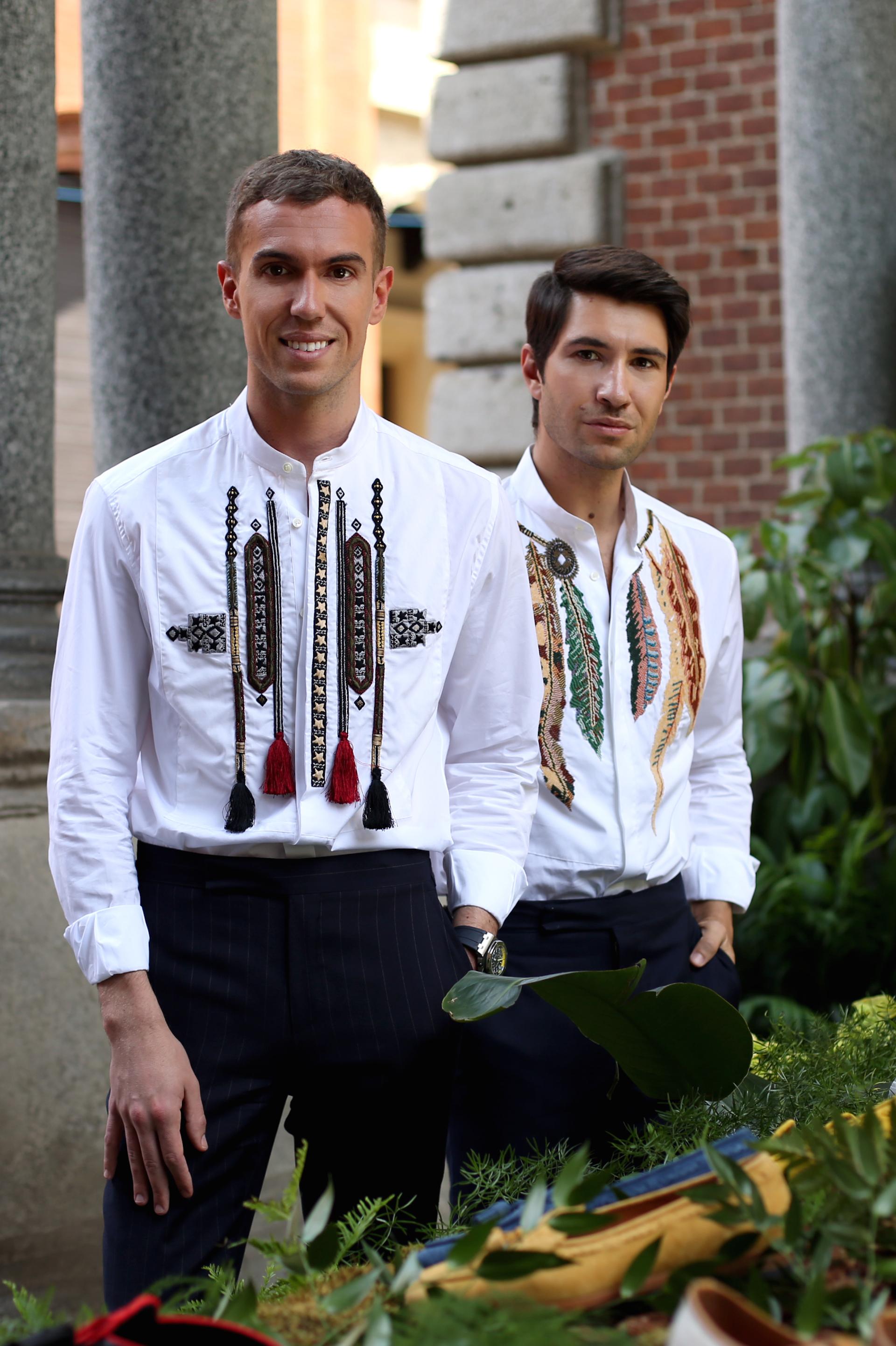 Filippo Cirulli and Filippo Fiora