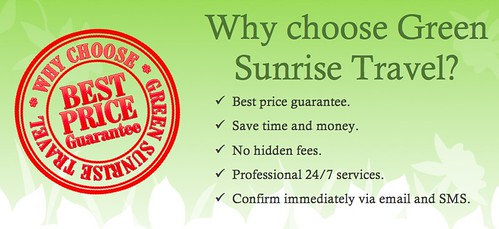 why choose Green Sunrise Travel
