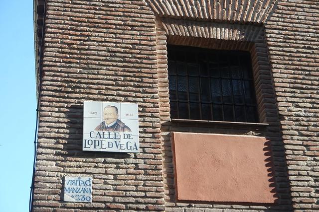 Calle de Lope de Vega, Calles de Madriz