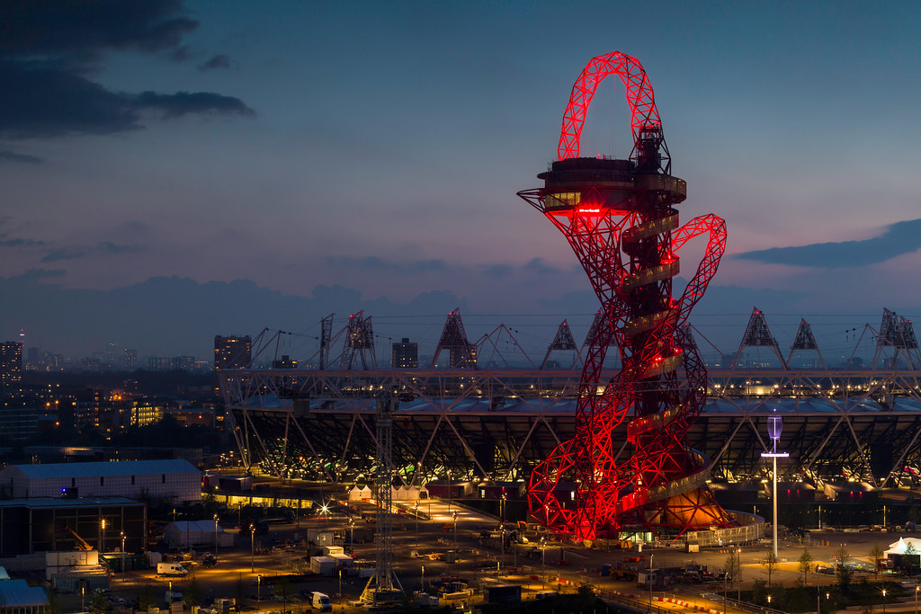 Anish Kapoor & Cecil Balmond - 2012年倫敦奧運塔ArcelorMittal Orbit Tower - Photo 07.jpg