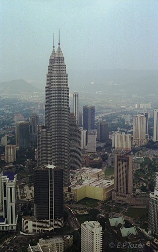 Petronas twin towers seen from the KL tower | by amazingstoker