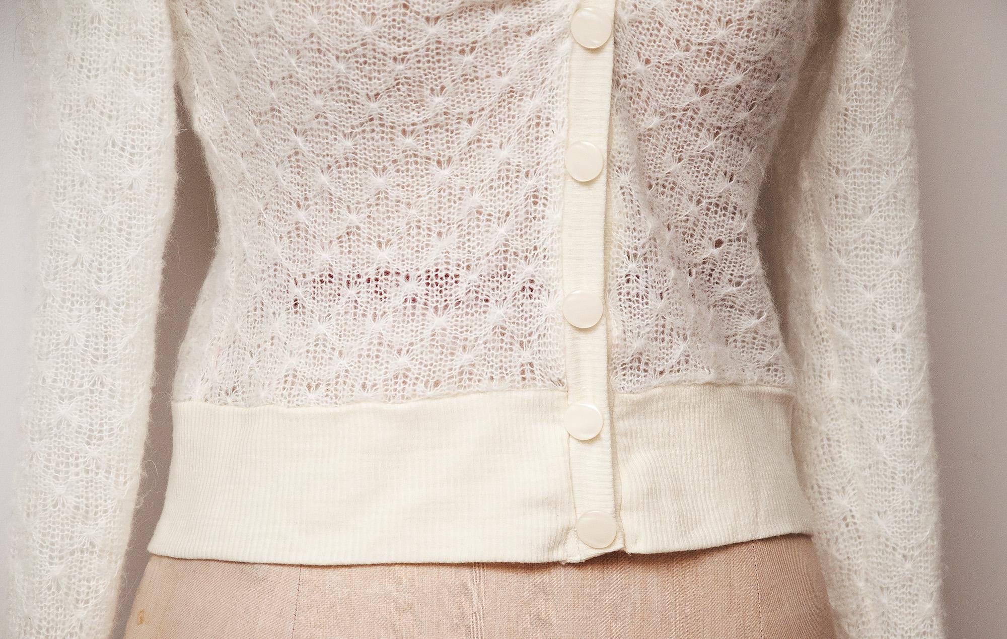Burdastyle lace cardigan