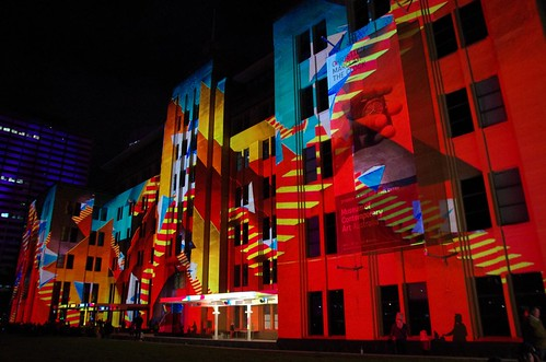 Museum of Contemporary Art - Vivid Sydney 2012