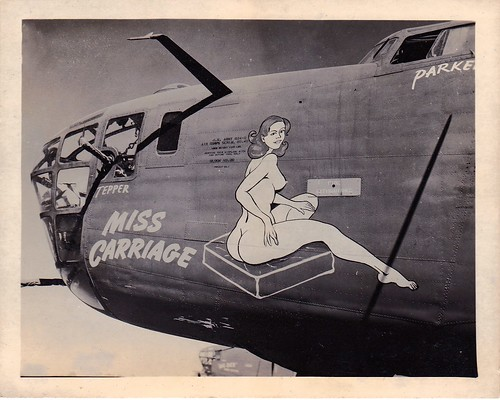 A little nose art | by Pete Zarria