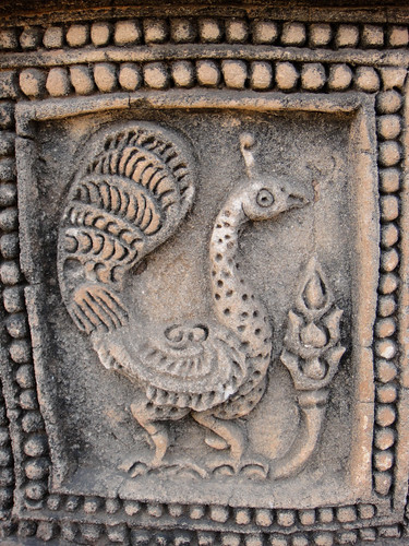 Clay sculpture on Bagan Temple Wall | by diane.wolkstein