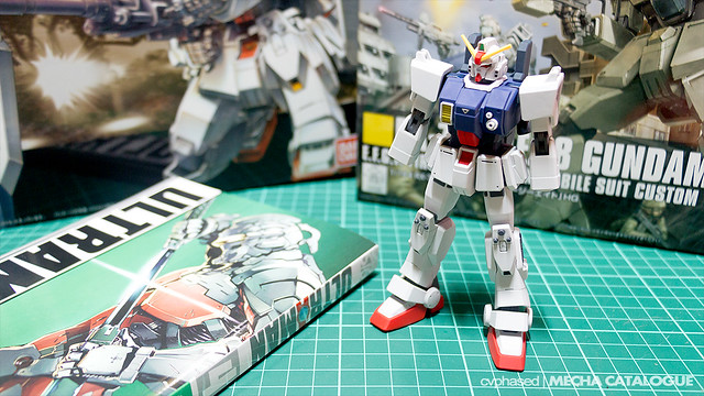 HGUC Gundam Ground Type - Work in Progress #2