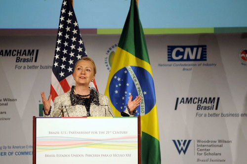 Secretary Clinton Delivers Remarks on U.S.-Brazil Partnership | by U.S. Department of State