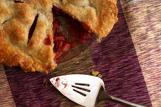 strawberry rhubarb pie 9 | by crumblycookie
