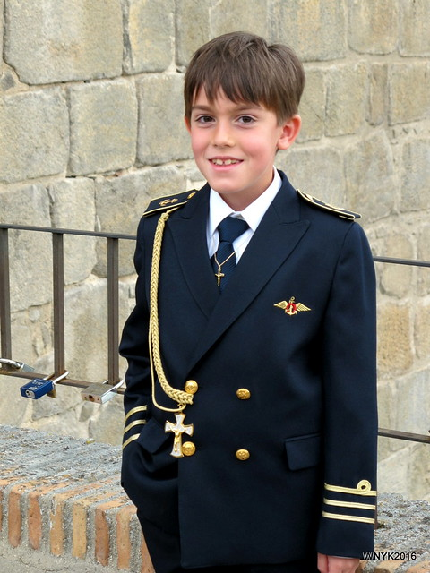 Boy in Uniform