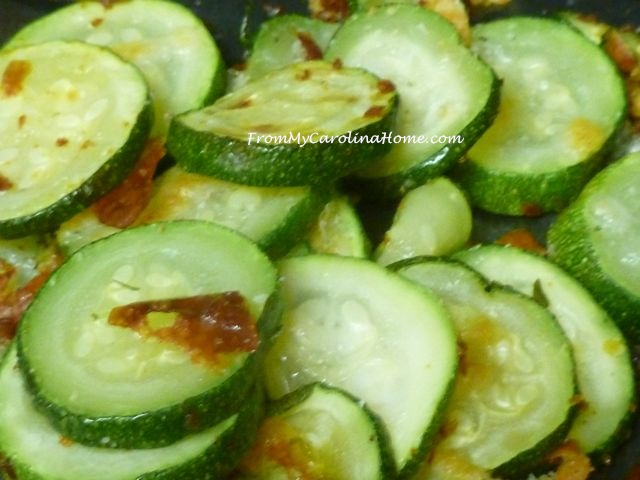Garlic Zucchini ~ From My Carolina Home