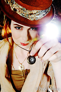 Steampunk Flare | by felicia.day
