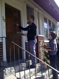Door-Knocking in NH | by OFA_MA