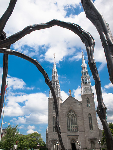 Ottawa Cathedral through spider's legs | by Chris Bertram