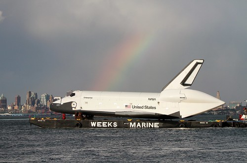 7455 Rainbow over the Shuttle Enterprise (Explore 6/5/12) | by shill718