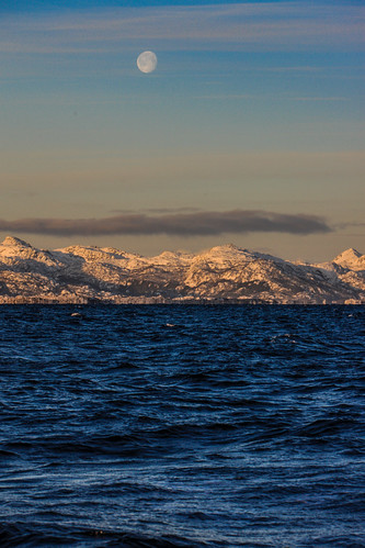 Moon Over Vestfjorden | by cliff.hellis