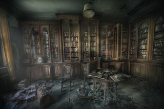 library ghosts  : | by andre govia.