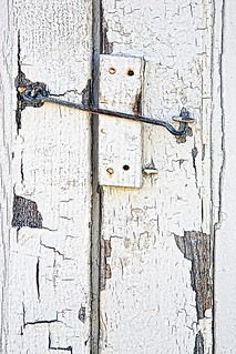 Latch and Peeling Paint | by rbwispear