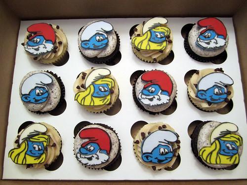 Birthday Cakes Smurfs Childrens