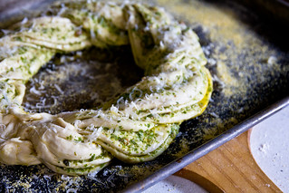 Twisted Pesto Bread | by TheBrewer&TheBaker