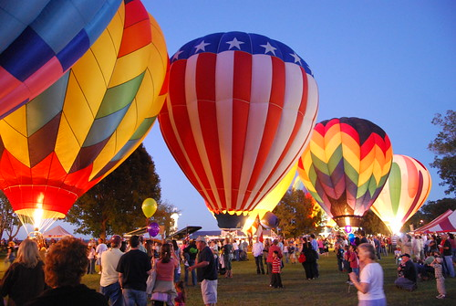 Balloon Glow in Natchez, MS | by Visit Natchez, MS
