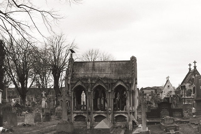 Kensal Green Cemetery on 35mm by Dianne Tanner