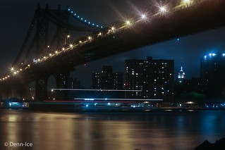 Manhattan Bridge Long Exposure | by Denn-Ice