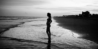 5 months pregnant at Galveston Beach | by Ⅿeagan