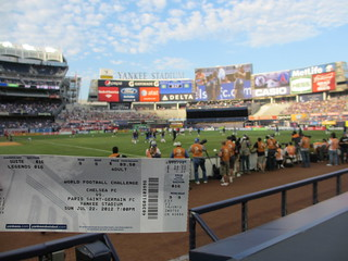 My ticket to the Chelsea/Paris St-Germaine match at Yankee Stadium | by Hazboy