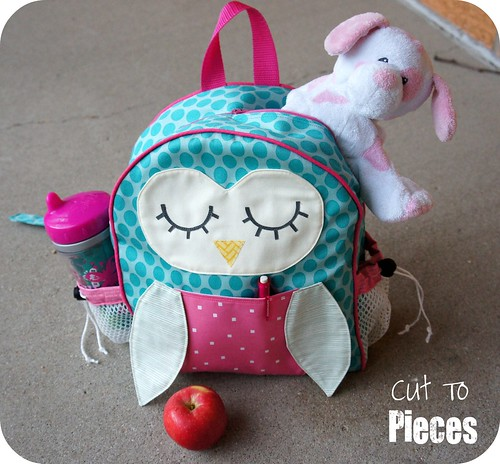 "Moda Sliced Finals - ""Owl Tag Along"" Toddler Backpack 