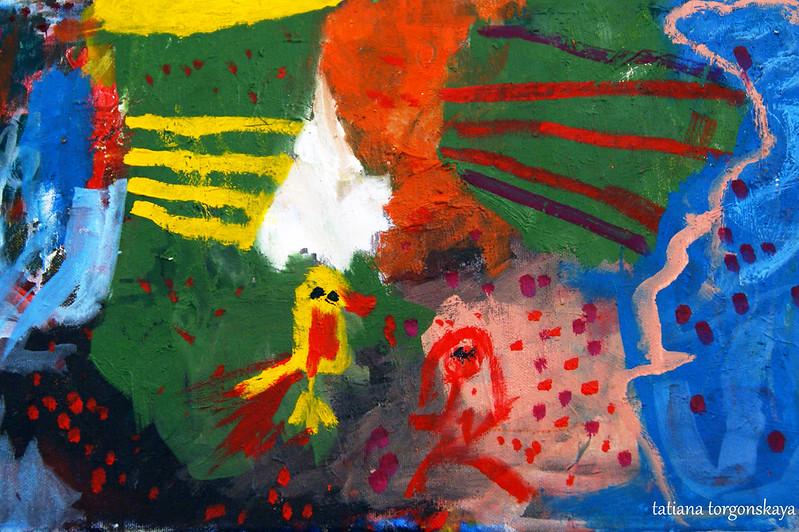 Картина от сына художницы