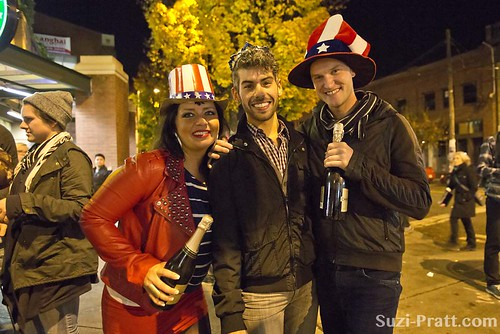Election Night 2012 in Capitol Hill, Seattle | by spratt504