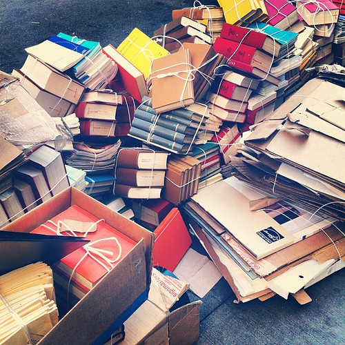 Pile o' books. | by laurenfarmer