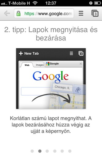 Google Chrome iOS-en #7 | by Hungarian UNIX Portal
